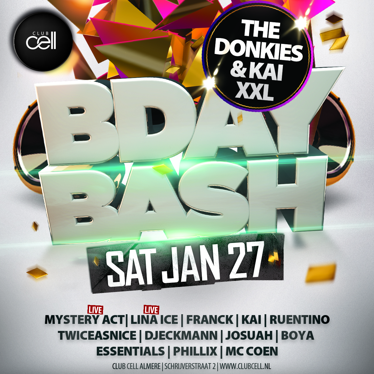 Donkies & Kai Bday Bash XXL